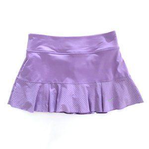NIKE DRI FIT Women's Lavender Tennis Skort Skirt S